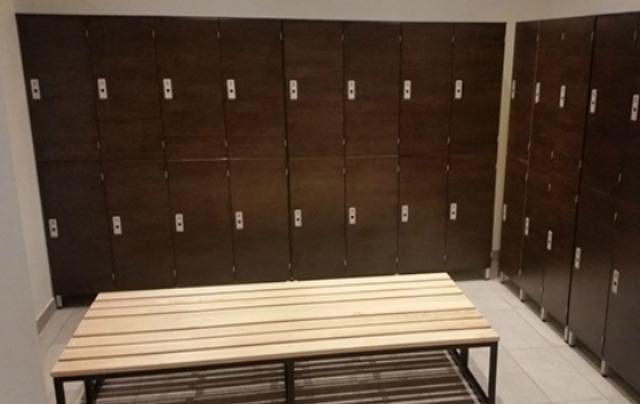 Garderobenschrank beschichtete Spanplatten