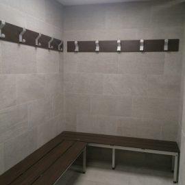 Garderobe Sitzbank HPL