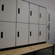 Garderobenschränke HPL