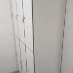 Garderobenschrank HPL mit Schlüssel